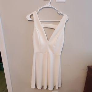 Charlotte Russe white skater dress